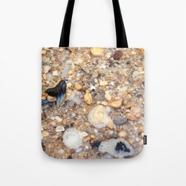 Virginia - Find the Fossil Shark Tooth Tote Bag