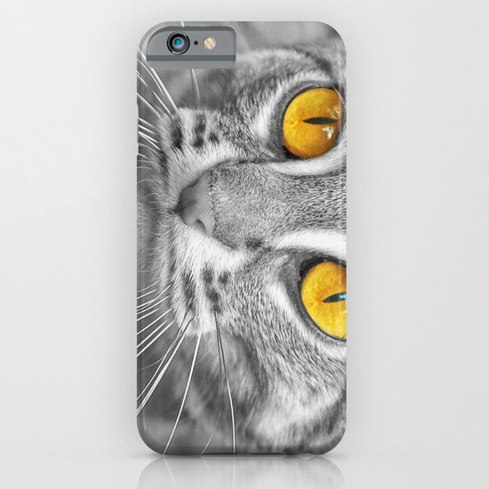 RUSTY SPOTTED CAT iPhone & iPod Case