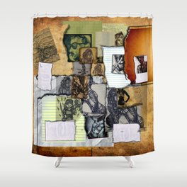 The Sketchbook Shower Curtain