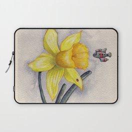 Future Botanical Studies - Daffodil Laptop Sleeve
