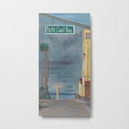 RB Pier: Gateway to Paradise Metal Print