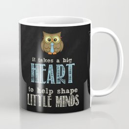 Big heart blue Coffee Mug