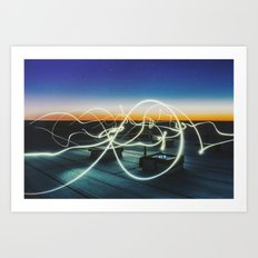 solar echo Art Print