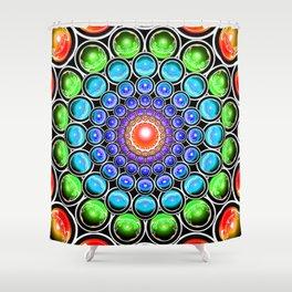 Interdimensional Shift II: Pattern Change Shower Curtain