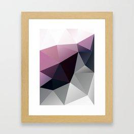 Aubergine Framed Art Print