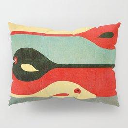 Three Fish in My Mind Pillow Sham
