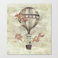 Skyfisher Canvas Print
