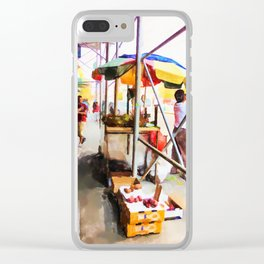 Street Vendors 2 Clear iPhone Case