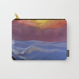 A Pastel Seascape Carry-All Pouch