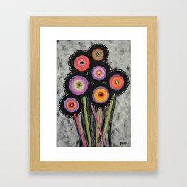 Flowers #6 Framed Art Print
