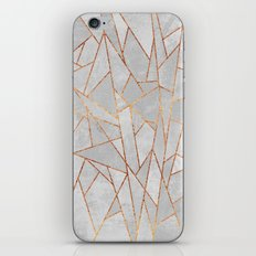 Shattered Concrete iPhone & iPod Skin