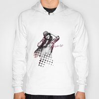 miley cyrus Hoodies featuring Miley Cyrus by mileyhq