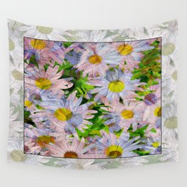 DAISEY MADNESS ABSTRACT  Wall Tapestry