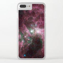 Eta Carinae Clear iPhone Case