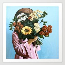Heavenly Blooms Art Print