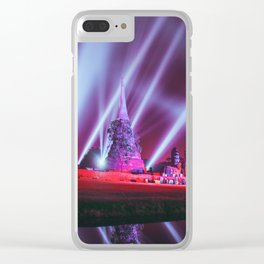 Ayutthaya lights Clear iPhone Case