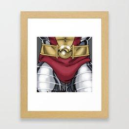 C is for... (male) Framed Art Print