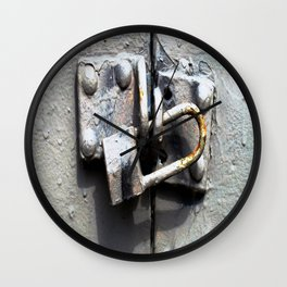 Lock Up  Wall Clock