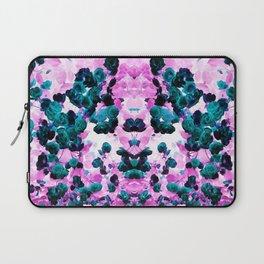 Negative Roses Print Laptop Sleeve