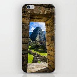 Doorways of Machu Picchu iPhone Skin