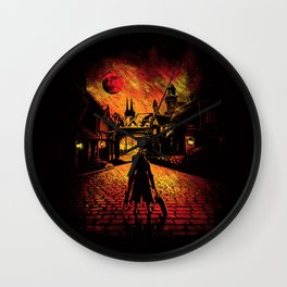 The Hunter Wall Clock