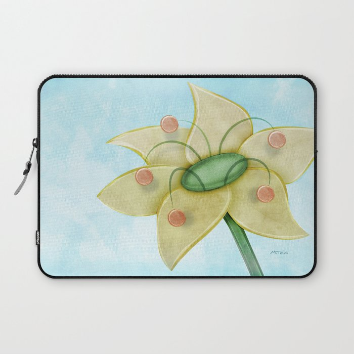 Pollen Flower Laptop Sleeve