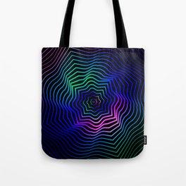 Hypnonotic geometric mandala Tote Bag