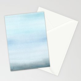 Watercolor Abstract Landscape Stationery Cards