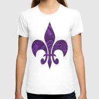 renaissance T-shirts featuring Renaissance Purple by Charma Rose