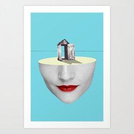 Escape (2012) Art Print