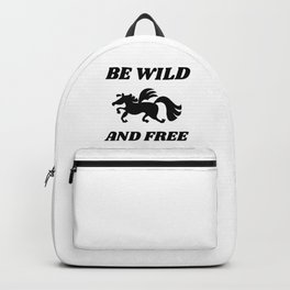 Wild And Free Pegasus Backpack