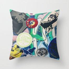Dubbers love Van art Throw Pillow