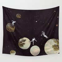 universe Wall Tapestries featuring Universe by Matthias Leutwyler
