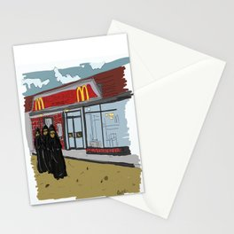 """""""Mickie Dee's""""  Stationery Cards"""