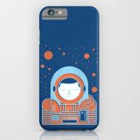 Orange Space iPhone 6s Slim Case
