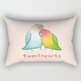Tweethearts Rectangular Pillow