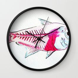 My First Water Color Wall Clock