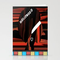 hollywood Stationery Cards featuring Hollywood by AndISky
