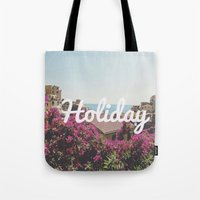 holiday Tote Bags featuring Holiday by Laure.B