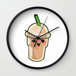 Coffee Kawaii Wall Clock