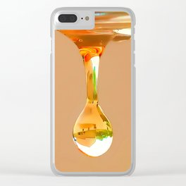 Dangling Drop Clear iPhone Case