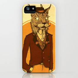 {Bosque Animal} Lince iPhone Case