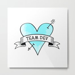 Team Dev Metal Print