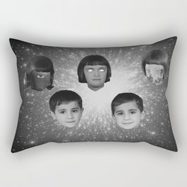 space face Rectangular Pillow