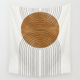 Abstract Flow Wall Tapestry