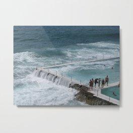 Bondi Waves Metal Print