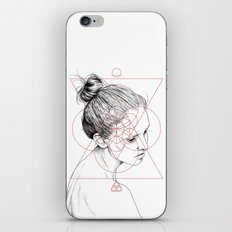 Face Facts II iPhone & iPod Skin