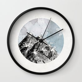 How Many Roads Wall Clock
