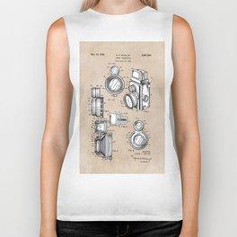patent art Winslow Camera Accessories 1960 Biker Tank