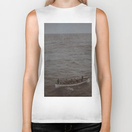 Lost at Sea Biker Tank